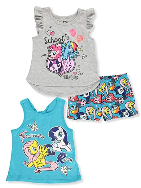 Amazon.com: My Little Pony - Juego de camisetas y pantalones ...