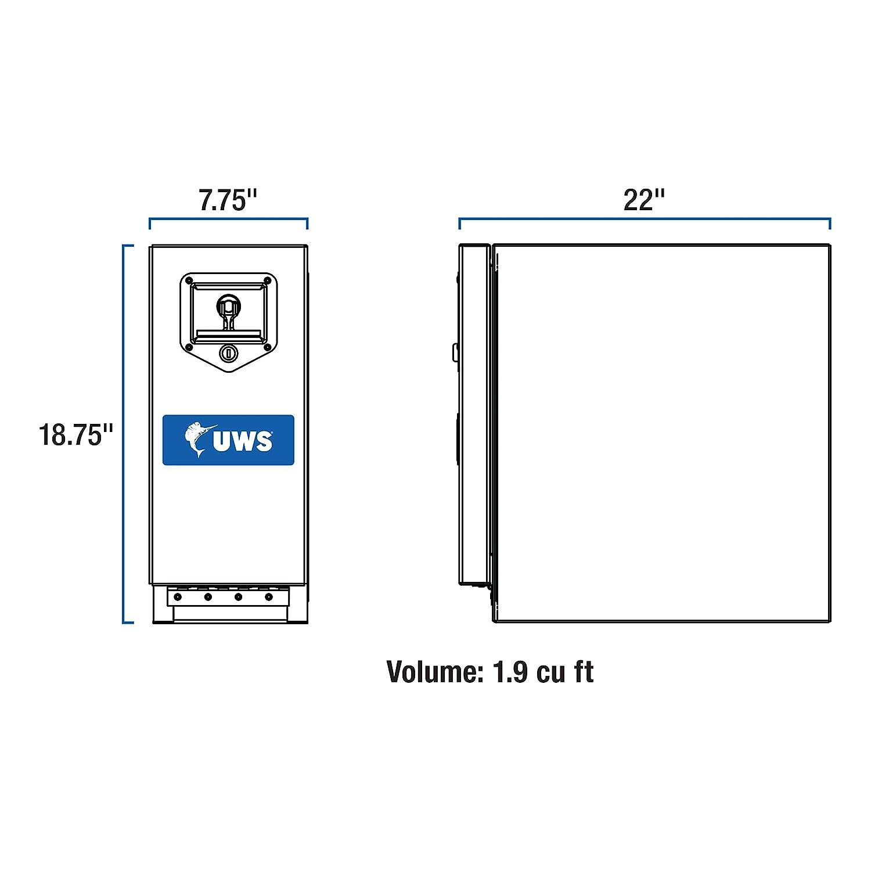 UWS DS-18 18 Drawer Slide Box