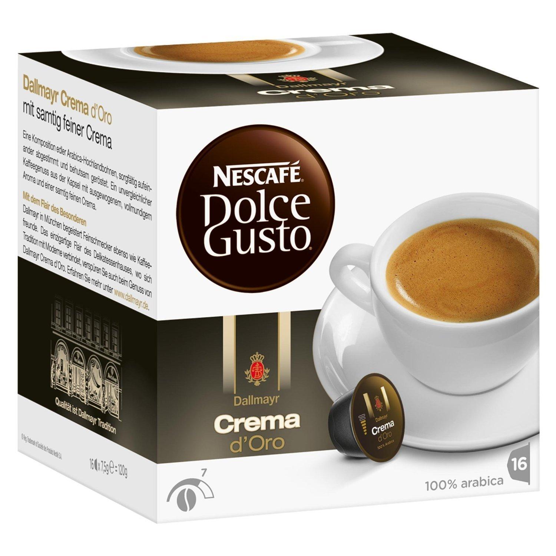 Nescafé Dolce Gusto Dallmayr Crema d´Oro, 16 Capsules