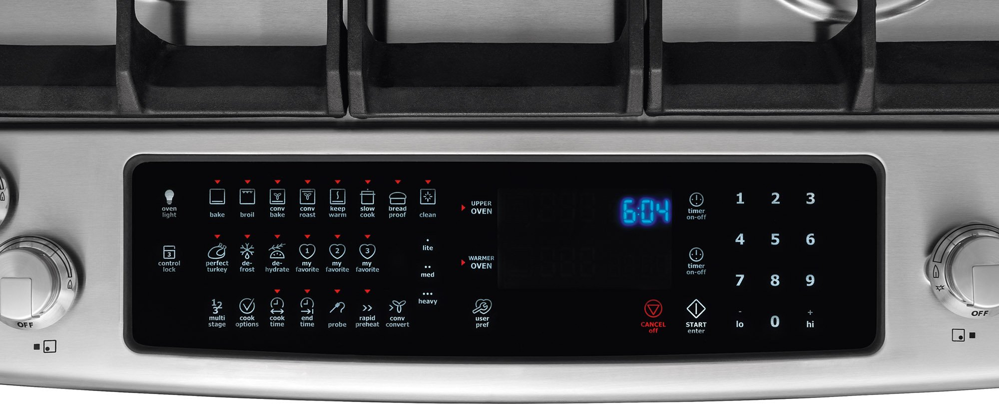 Electrolux EW30GS80RS 30'' Star K ADA Compliant Gas Slide-In Range Oven with 5 Sealed Burners 4.5 cu. ft. Oven Capacity Continuous Grates and Luxury-Glide Oven Rack in Stainless by Electrolux (Image #4)