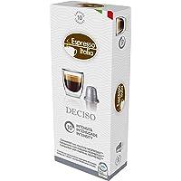 Cápsulas de Café Deciso Espresso Italia, Compatível com Nespresso, Contém 10 Cápsulas