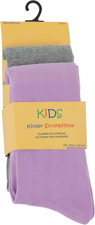M/ädchen und Jungen Strumpfhose Baumwolle Cotton Prime 2er oder 4er Set Kinder Strumpfhosen /Öko-Tex Standard 100 Zertifiziert