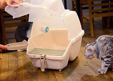 VentiFresh: neutralizador de olores para gatos, eliminador de olores para basura, purificador de aire compacto para el hogar, sin filtro, eliminador de olores de gato, control de olor de orina de gato,
