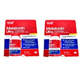 Schiff Melatonin Ultra 3mg Melatonin, Theanine, Gaba & More Sleep Well Dietary Supplement: 600 Tablets - COS