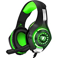BlueFire Professional 3.5mm PS4 Gaming Headset Headphone with Mic and LED Lights for Playstation 4, Xbox one,Laptop…