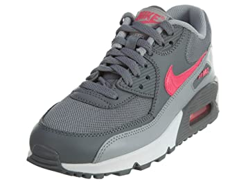 Nike Unisex Kids  Air Max 90 Mesh Low-Top Grey  Amazon.co.uk  Shoes ... f18ce94eb