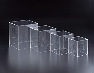 Exceptionnel Marketing Holders One 4u0026quot; Cube Riser Box / 5 Sided (Acrylic) Jewelry  Display