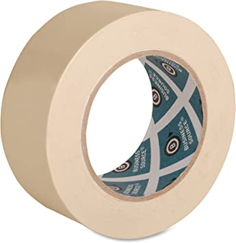 Masking Tape General Purpose Beige 2 inch x 60 Yards for Painting Home