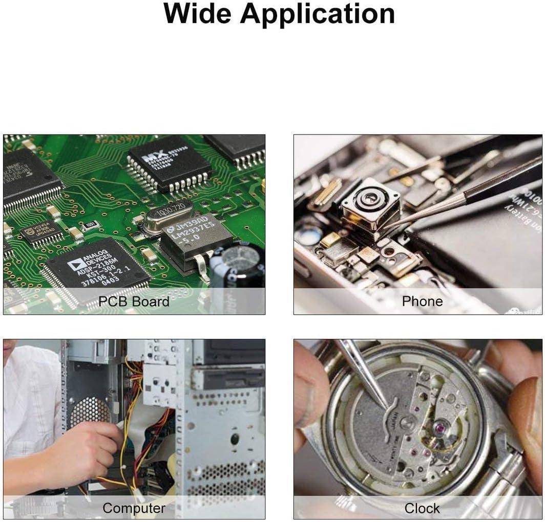 KS-K1473 T/él/éphone D/émontage Crowbar Set Outil De R/éparation Dordinateur Portable D/émonter En M/étal Spudger Pry Bar Rod Tablette Ouverture De L/écran Argent