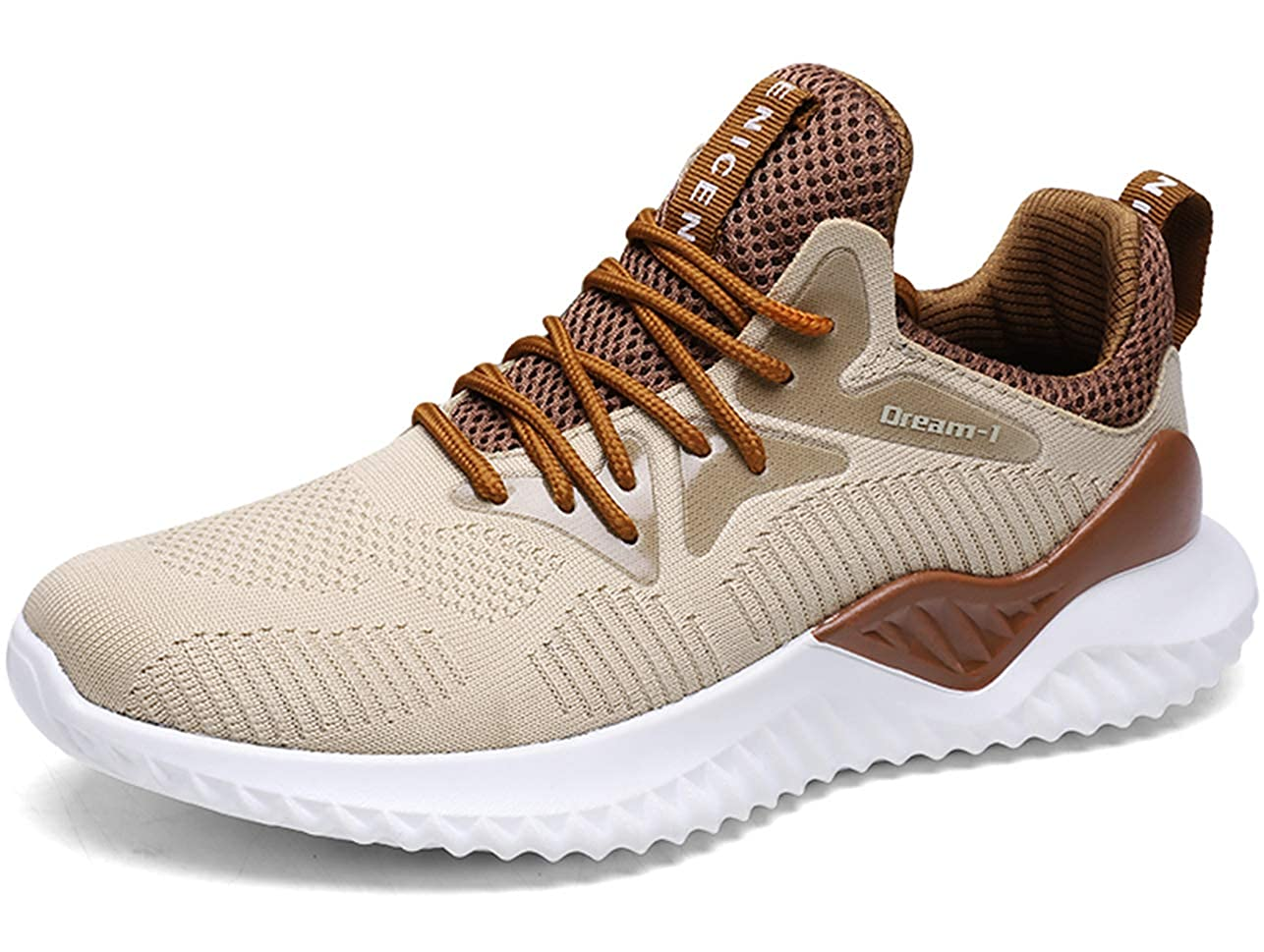 GJRRX Zapatillas Running para Hombre Aire Libre y Deporte Transpirables Casual Zapatos Gimnasio Correr Sneakers 39-46 1810-2