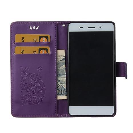 Amazon.com: Funda Huawei P8 Lite, isadenser Premium funda ...