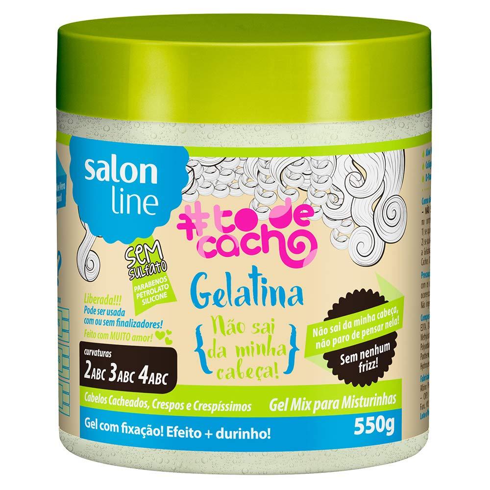 Linha Tratamento (#ToDeCacho) Salon Line - Gelatina Nao Sai Da Minha Cabeca!