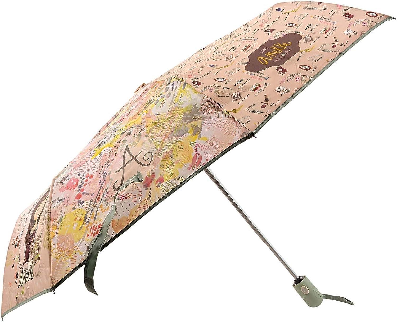 Paula Alonso Anekke Woman Umbrella Open-Close 28870P2 Cannes Aluminium Automatiques