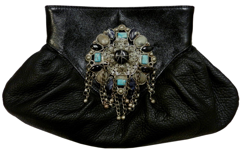 Leatherock Clutch Handbag