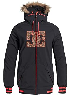 46713934 Amazon.com: DC Women's Brooklyn Snow Jacket, Space Data, XS: Clothing