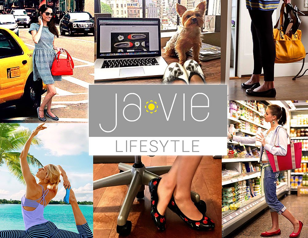 JA VIE Foldable Comfortable Shoes for Women Cute Flats for Every Day Wear Driving Walking, Camel Leopard SZ 39 by JA VIE (Image #8)