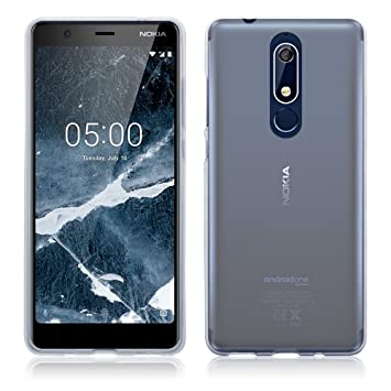 online store def52 c215a TERRAPIN, Compatible with Nokia 5.1 Case, TPU Gel Cover - Clear