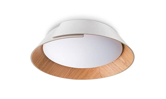 Philips Lighting Philips myLiving Nonagon - Lámpara de techo, LED integrado, consume 10 W, luz blanca cálida, regulable, 11