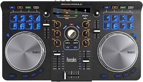 Hercules Universal DJ USB Bluetooth controlador DJ + Auriculares ...