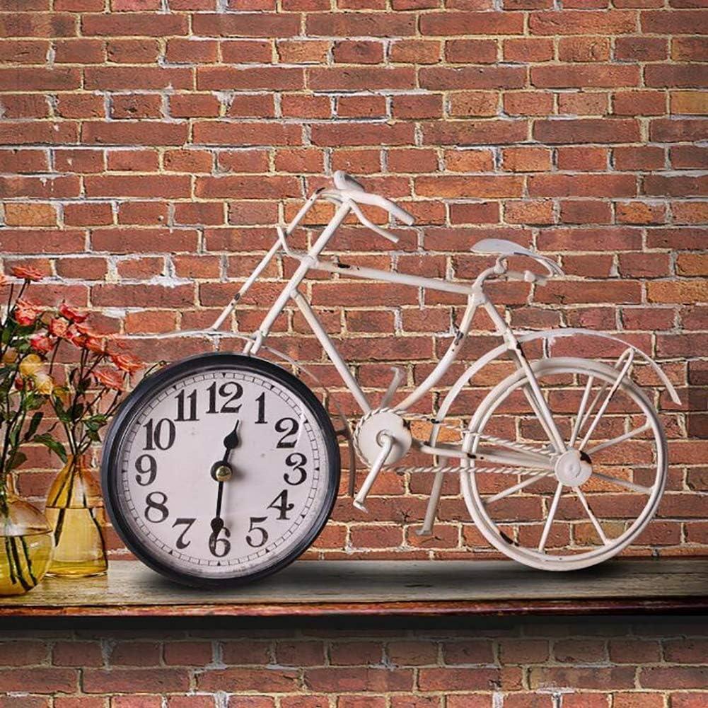 Batope Relojes de Pared Reloj de Pared, Bicicleta Vintage ...