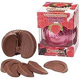 Ovation Milk Chocolate Raspberry Break-A-Part 6.17 Oz Single Ball