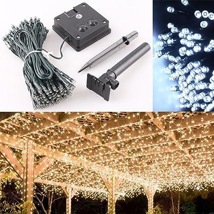 Led Solar Power Fairy Light String Lamp Party Xmas Deco Garden Outdoor 100 200