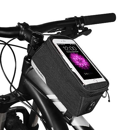 7b5be6d54c8 COTEetCI Bicycle Phone Bags MTB Road Bike Top Tube Bag PVC Touch Screen Cycling  Frame Pouch