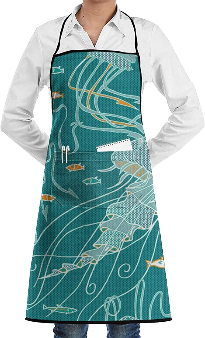 Amazon.com: Cooking Aprons Beach Themed Start Fish Chef