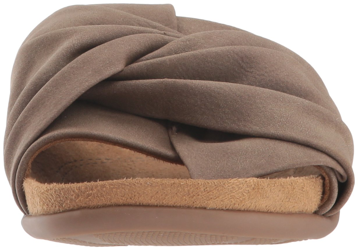 NATURAL SOUL Women's Adalia Slide Sandal B078HTGQ53 6.5 W US|Mushroom
