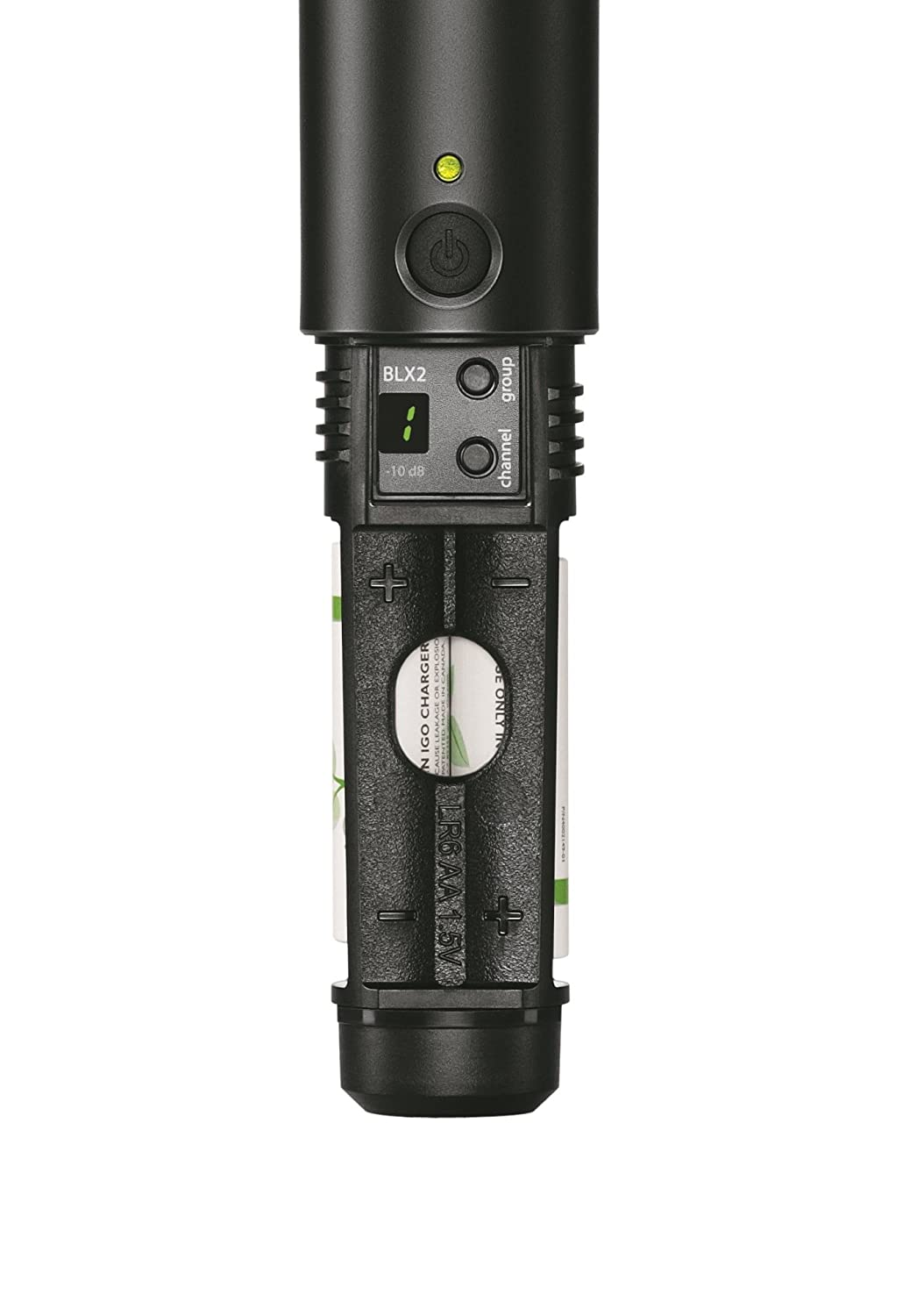 Amazon.com: Shure BLX2/SM58 Handheld Transmitter with SM58 ...