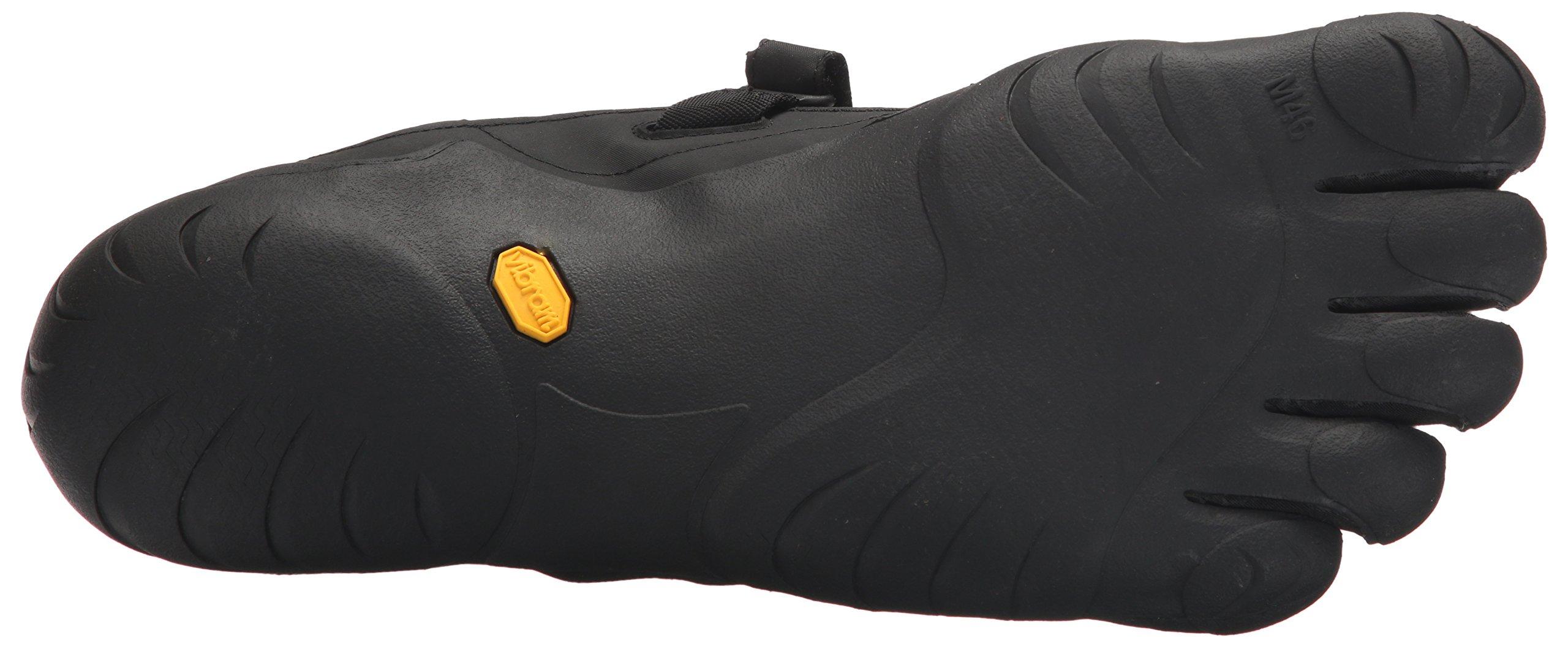 Vibram Men's Five Fingers, KSO EVO Cross Training Shoe Black Black 4.4 M by Vibram (Image #3)