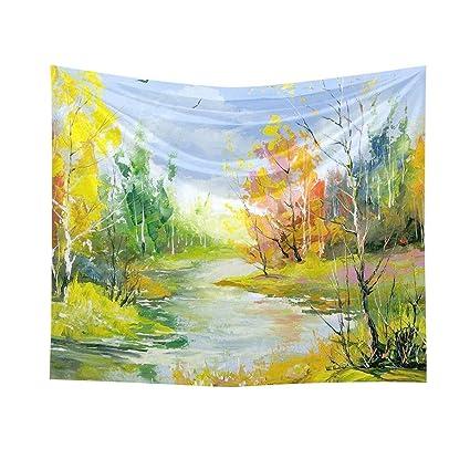 Abby Girls 70*50cm Varios tipos de plantas pintura al óleo tapiz de impresión de