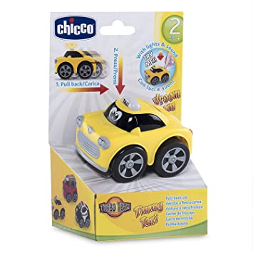 Chicco Turbo Touch Game Stunt Yellow