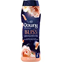 Downy Infusions In-Wash Laundry Scent Booster Beads, Bliss, Sparkling Amber & Rose, 285 g - Packaging May Vary