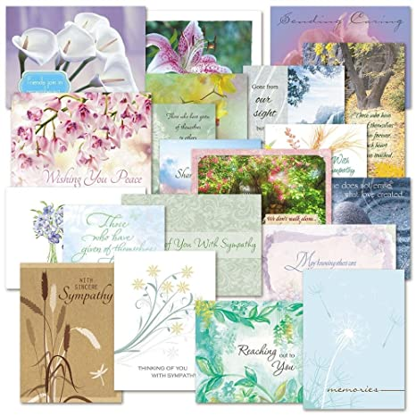 Amazon mega sympathy greeting card value pack some with mega sympathy greeting card value pack some with metallic foil set of 40 m4hsunfo