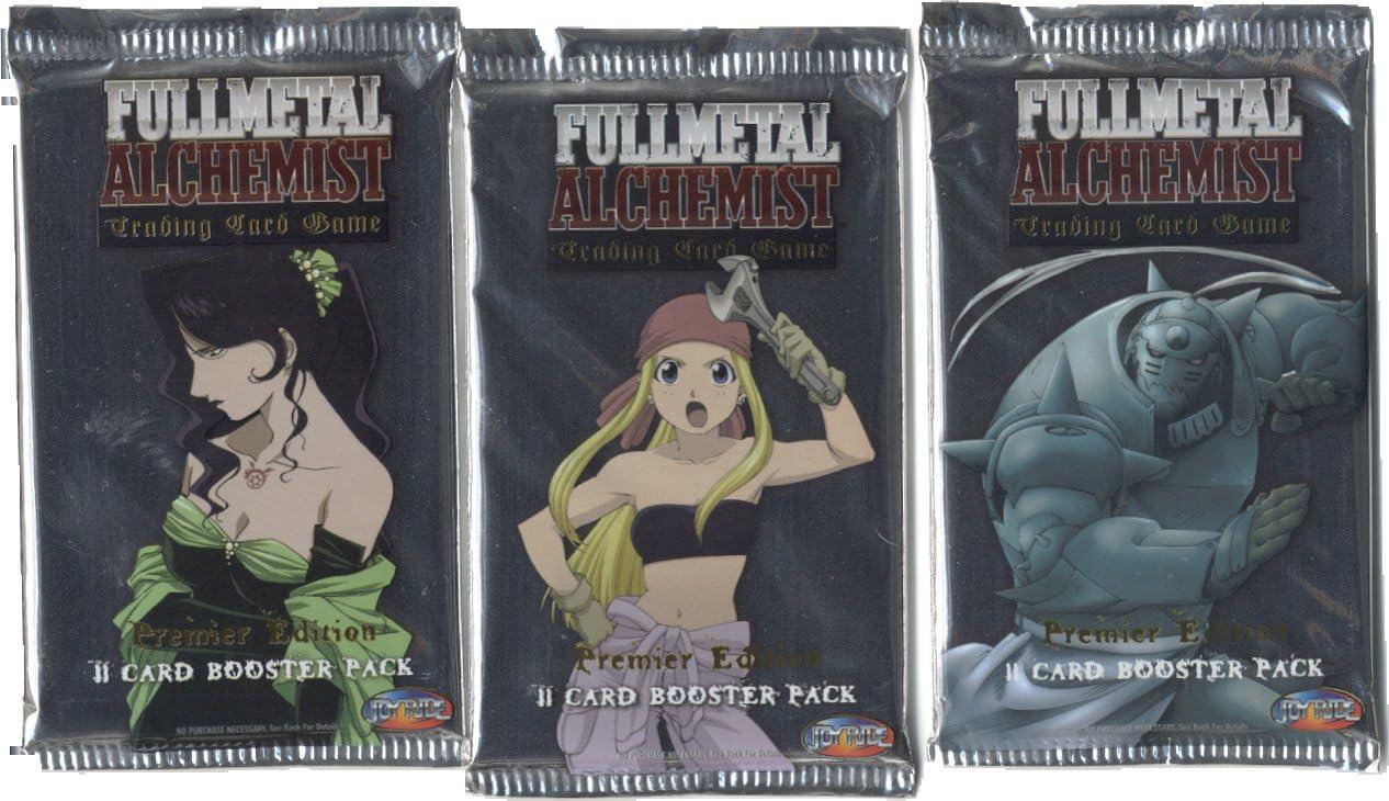 WizKids Full Metal Alchemist CCG, Premier Edition Booster Pack: Amazon.es: Juguetes y juegos