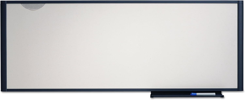 Quartet WM4818 Quartet Workstation Total Erase Marker Board, Dry-Erase, 48 x 18, WE, GY Frame