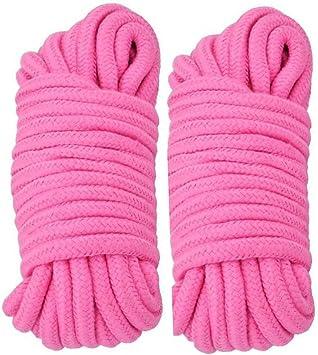 Cuerda de algodón suave multiusos, 10 m de largo, cuerda trenzada ...