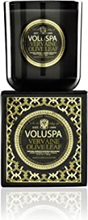 product image for Voluspa Vervaine Olive Leaf Classic Maison Boxed Glass Candle, 12 Ounces