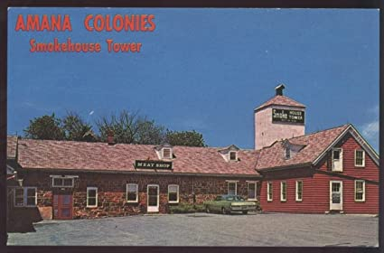 Amazon com : Amana Iowa Colonies Smokehouse Tower Westphalian Ham