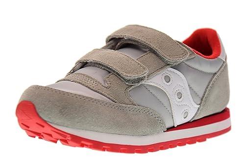 SAUCONY SC57791 JAZZ DBLE HL grigio rosso scarpe bambino strappi unisex   MainApps  Amazon.it  Scarpe e borse ea05756913c