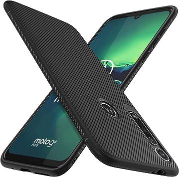 iBetter Diseño para Motorola Moto G8 plus Funda, Fina de Silicona ...