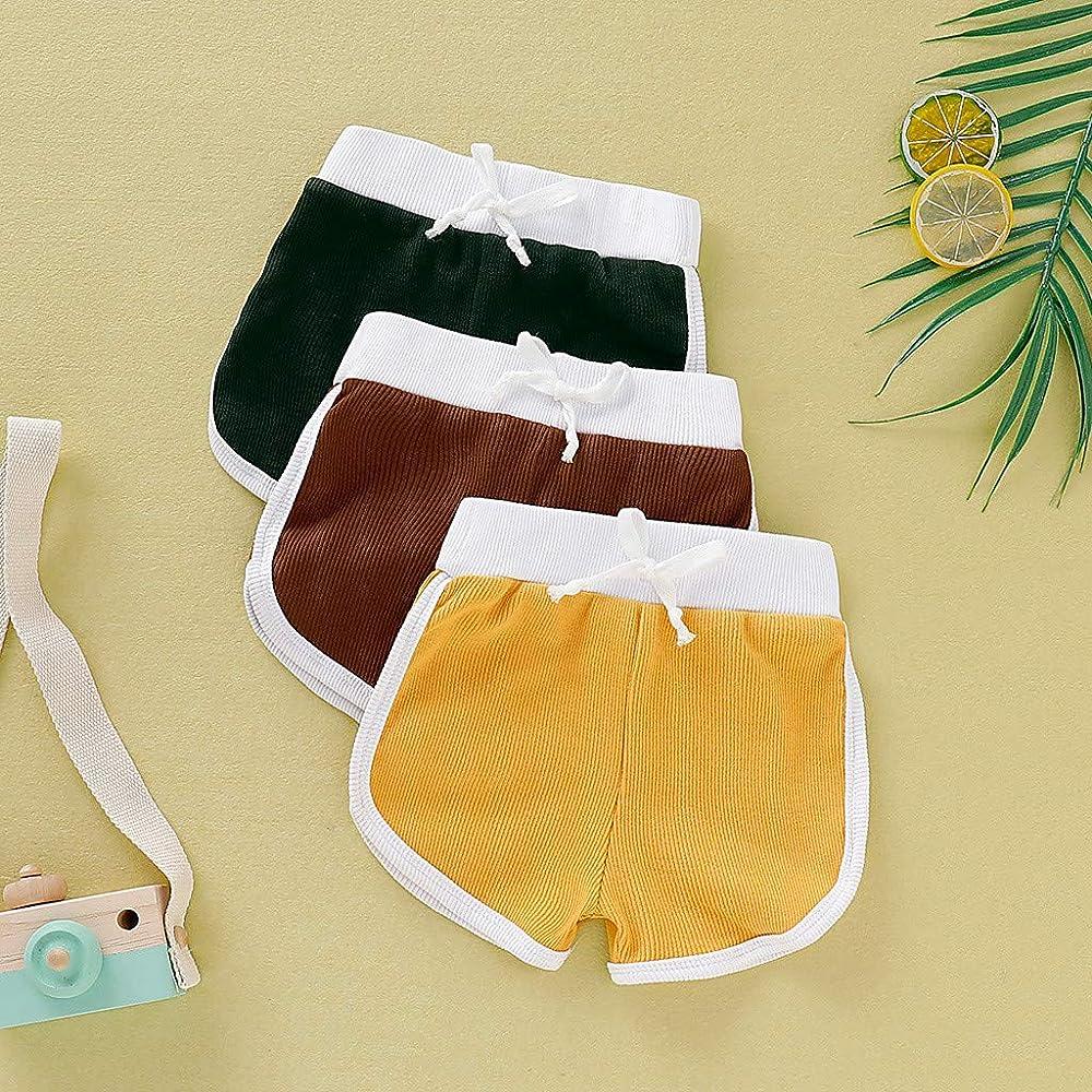 Pantalones Cortos para Niños Pantalones Finos de Verano Algodón ...