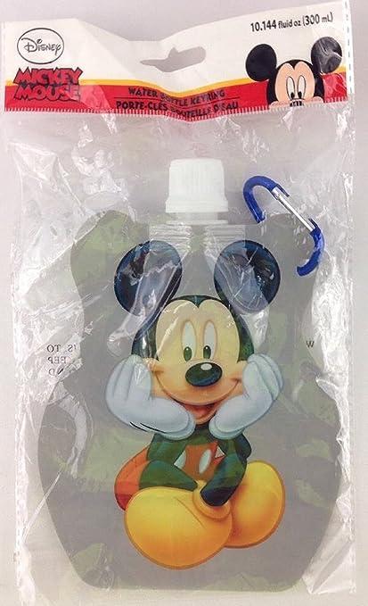 Amazon.com: Botella de agua de Mickey Mouse llavero: Sports ...
