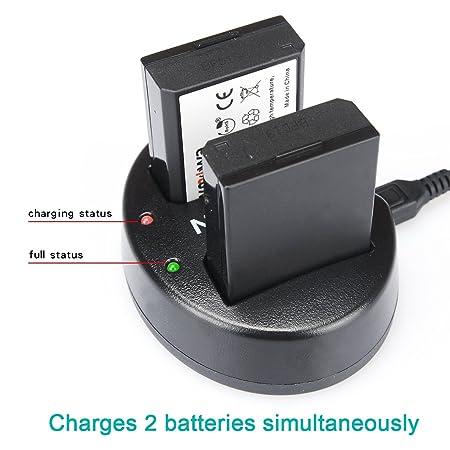 Newmowa USB Cargador Doble para Nikon EN-EL15 and Nikon 1 V1, D600 ...
