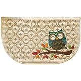 Mainstays Slice Kitchen Rug, Owl Trellis, 18 x 30 Inches (1)