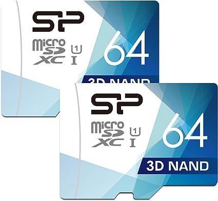 Silicon Power Micro Sd Karte Mit Adapter 64 Gb Dual Computer Zubehör