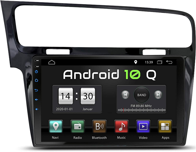 Xm 10g7 Blk Autoradio Passend Für Vw Golf 7 2013 2017 I Android 10 I Gps Navigation I Bluetooth I 10 1 Zoll 25 5cm Touchscreen I Usb Sd I 32 Gb Rom I 2 Din Amazon De