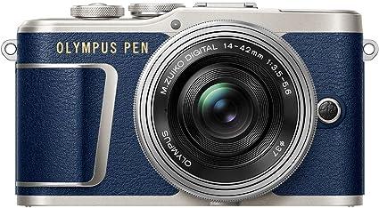 Olympus Pen E Pl9 Kompakte Systemkamera Blau Silber Kamera