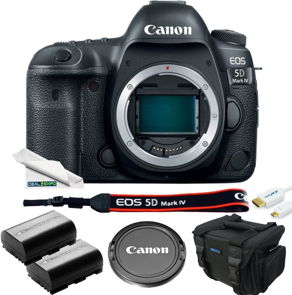 B077H3KD19 Canon EOS 5D Mark IV DSLR Camera ( Body Only ) - Deal-Expo Accessories Bundle 71hgwRrRAAL.SL1000_